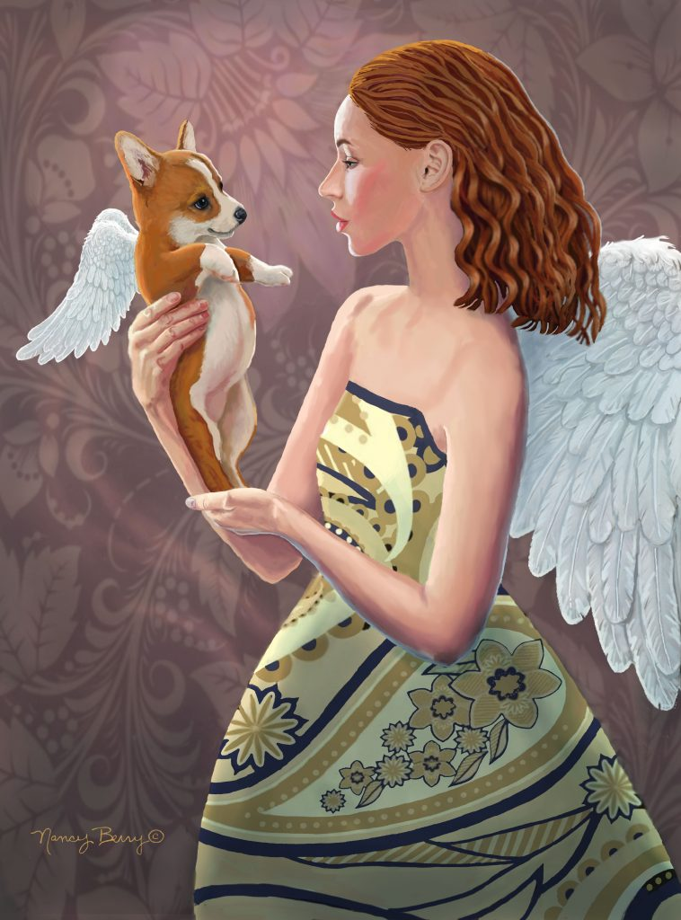 Angel Admiration by Nancy Berry